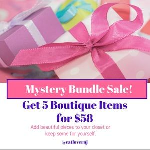 Other - Mystery Boutique Bundle SALE! 5 Items + Accessory